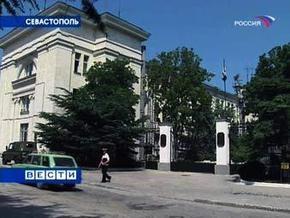 В Севастополе гаишники остановили автомобиль ЧФ РФ с  взрывоопасным  грузом