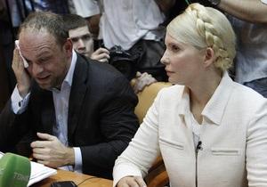 Фотогалерея: До седьмого пота. Первое судебное заседание по делу Тимошенко длилось 9 часов