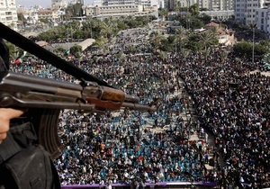 100 тысяч палестинцев вышли на митинг в секторе Газа
