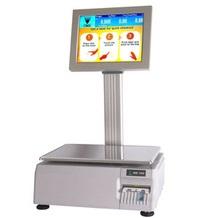 Система RF Hi-Touch в комплексе с весами облегчает процесс взвешивания товара в магазине