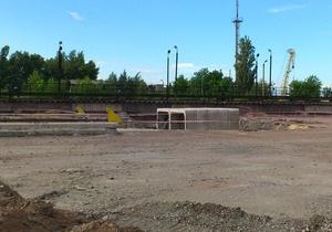 Газета пишет, что строительство метро на Троещину отложили из-за нехватки денег