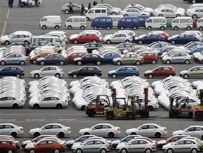 Объемы продаж иностранных автомобилей в Украине сократились на 80%