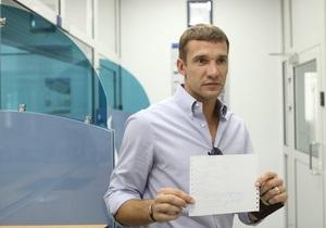 Андрей Шевченко перечислил партии Королевской 10 миллионов гривен