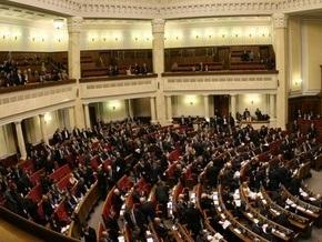 Рада отказалась рассматривать антикризисные законопроекты