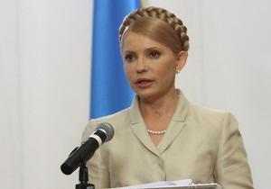 Тимошенко желает, чтобы журналистика стала реальной властью