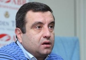Экс-кандидат в президенты Армении арестован