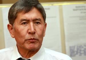 Милиция задержала бывшего премьер-министра Кыргызстана
