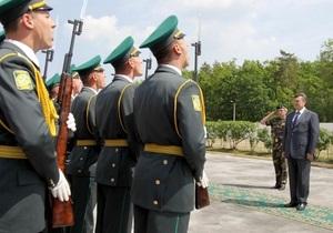 Янукович предлагает сократить численность армии