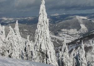 С 1 декабря Украину накроет снегом