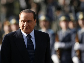 Берлускони встретился с Путиным