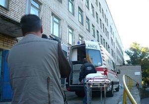Все пострадавшие в ДТП в Марганце доставлены в больницу Днепропетровска