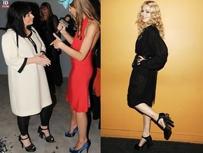 Заммэра Киева надела туфли, как у Мадонны