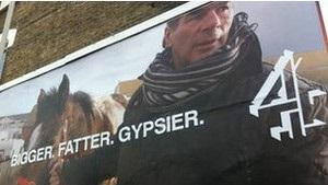 Цыгане в Британии обиделись на рекламу Четвертого канала