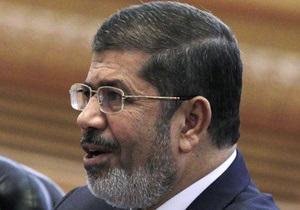 Мурси и глава минобороны Египта обсудили пути выхода из политического кризиса