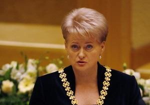 Литва предложила президенту ЕС упростить визовый режим для белорусов