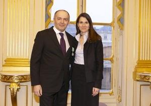 Пинчук стал Кавалером Ордена искусств и литературы Франции