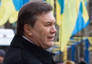 Янукович пообещал украинцам  построить демократическое государство