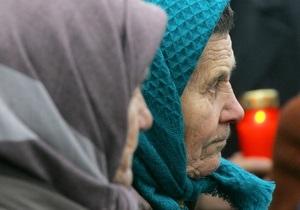 Наша Украина: Янукович надругался над памятью миллионов жертв Голодомора