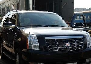 МВД: Cadillac перевозит иностранные делегации, а не Могилева
