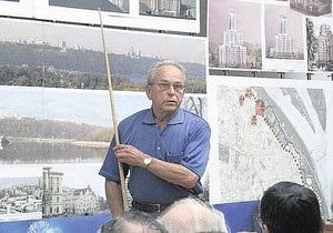 Умер знаменитый киевский архитектор Валентин Ежов