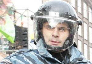 Офицер подразделения Беркут принес извинения фотографу журнала Корреспондент