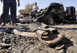 В Ираке смертник взорвался рядом с бывшей резиденцией Саддама Хусейна