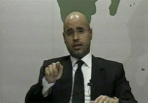 Сын Каддафи надеется достичь перемирия с оппозиционерами