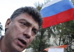 Немцов: Тимошенко - это украинская Ходорковская