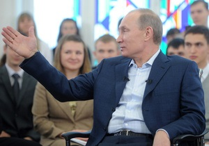 Путин ответил Макаревичу, возложив часть вины за коррупцию на бизнес