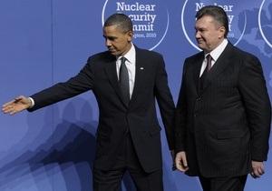 Источник: Обама указал Януковичу на проблемы с демократией в Украине