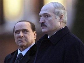 Лукашенко передал Берлускони материалы из архивов КГБ