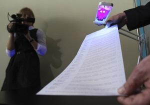 Силовики получили более тысячи обращений о нарушениях во время первого тура выборов