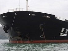 Китай запретил допрос экипажа судна, столкнувшегося с Нафтогаз -67
