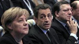 Саркози считает, что Европе остался шаг до развала