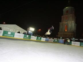 В этом месяце на Софийской площади зальют каток