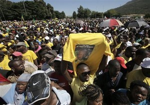 В ЮАР отмечают 20-ю годовщину освобождения Нельсона Манделы