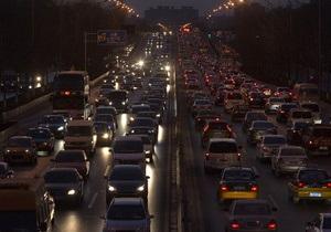 В Китае в густом тумане столкнулись 137 машин