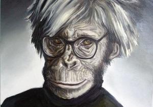 Голливудские звезды в обезьяньих образах. В Киеве открывается новая выставка Чичкана