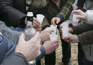 В Днепропетровске налоговая милиция изъяла из незаконного оборота алкоголь на 1 млн гривен