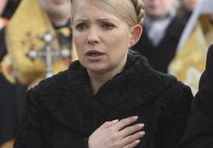 Тимошенко во вторник проведет вече памяти Шевченко