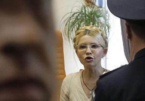 Батьківщина: СБУ пыталась незаконно допросить Тимошенко в СИЗО