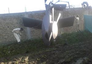 Пакистан вернет США обломки вертолета, разбившегося во время операции против бин Ладена