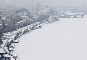 В субботу в Украине ожидается мокрый снег и гололедица