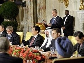 Буш призвал мировых лидеров не вмешиваться в экономику