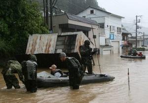 Жертвами тайфуна Талас в Японии стали 50 человек