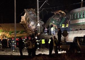 В результате столкновения поездов в Польше погибли 14 человек. Ведется расследование