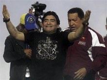 Марадона ищет встречи с Ахмадинеджадом