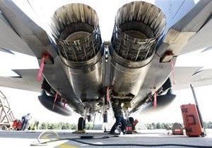 ВВС Британии отменили учения из-за вулканического пепла в двигателях истребителей