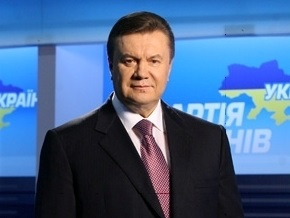 Янукович знает, кто спасет Украину от экономического банкротства