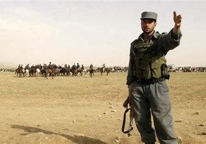 Россия начала поставки оружия в Афганистан